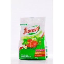 Удобрение Флоровит для клубники гран. 3 кг, мешок