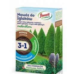 Удобрение Флоровит (Florovit) Про Натура  для хвойных гранулированное 1кг, коробка