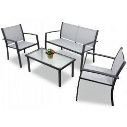 Набор мебели садовой: столик, лавочка, 2 кресла ANH0846