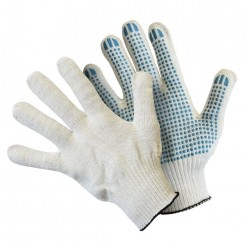 Перчатки вязаные с ПВХ стандарт PHB3N