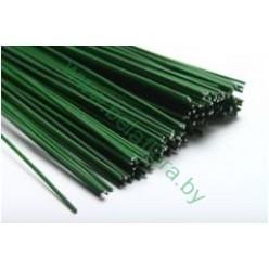 Проволока флористическая зеленая 50 шт/уп 27 см NF002