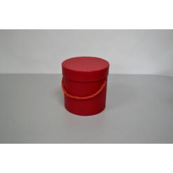 Коробка декоративная 12х12,5см красный FB014