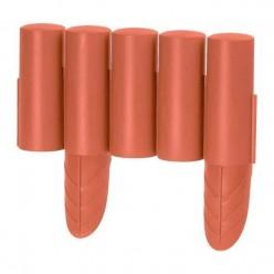 Полисад пластмассовый Polisada 2,4м терракотовый IPALPLUS-R624