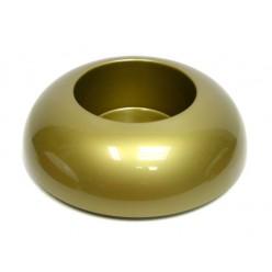 Икебана пластиковая круглая золотистая IK 02