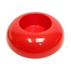 Икебана пластиковая круглая красная IK 02