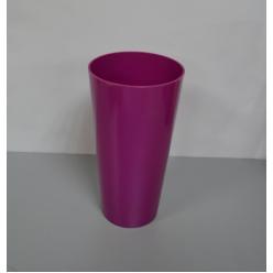 Вазон пластмассовый Туба Вулкано 20 ягодный 2451-043