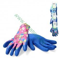 Перчатки защитные  (п/э латекс) р.7 микс  Польша IDA8478