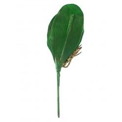 Орхидея лист иск. 20см диаметр 18