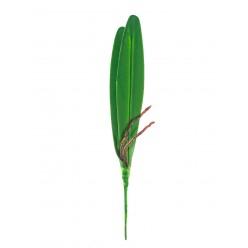 Орхидея лист иск. 32см  d10