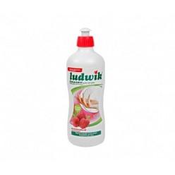 """Бальзам для мытья посуды """"Ludwik"""", малиновый, 500 гр"""