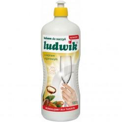 """Бальзам для мытья посуды """"Ludwik"""", с аргановым маслом, 1000 гр"""