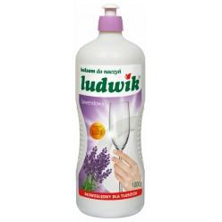 "Бальзам для мытья посуды ""Ludwik"", с лаванда, 1000 гр"