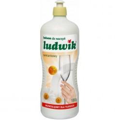"""Бальзам для мытья посуды """"Ludwik"""", ромашка, 1000 гр"""