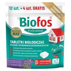 Биофос таблетки для септиков и очистит.станций Biofos Professional, 12штх20г+4шт бесплатно, дойпак