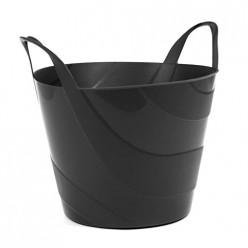 Корзина пластиковая огородная Billy 30л чёрная IPBI420-S411