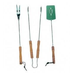 Набор для гриля (лопата, вилка, щипцы) MG103