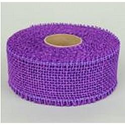 Лента джутовая темно-пурпурная R020-05