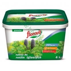 Удобрение Флоровит для хвойных гран. 4кг, ведро