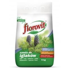 Удобрение Флоровит для хвойных гранулированный 5кг, мешок