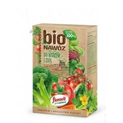 Удобрение Флоровит (Florovit)  Про Натура БИО овощи и травы 800г коробка