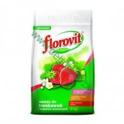Удобрение Флоровит для клубники гран. 5кг, мешок