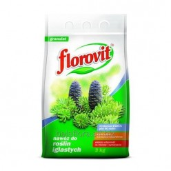 """Удобрение """"Флоровит""""(Florovit) для хвойных гранулированное, 3 кг"""