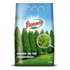 """Удобрение """"Флоровит"""" для хвойных (для туй) 1 кг (мешок)"""