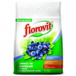 Удобрение Флоровит для голубики гран. 1кг, мешок
