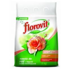 """Удобрение """"Флоровит"""" для роз и других цветущих растений, 1 кг (пакет)"""