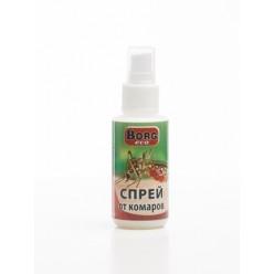 Спрей от комаров BORG Eco 80мл