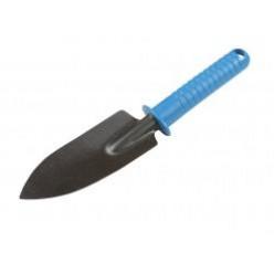 Лопатка для пересадки растений металлическая с ручкой RG505B