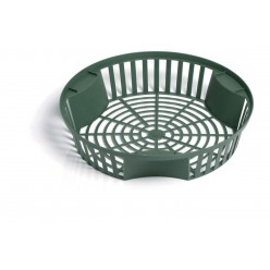 Корзинка для луковиц пластмассовая 21,5см круглая