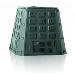 Компостер пластиковый EVOGREEN зеленый 800л d78см h1040м