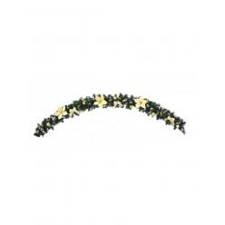 Гирлянда еловая искусственная 1,8м золотой декор ANT1745
