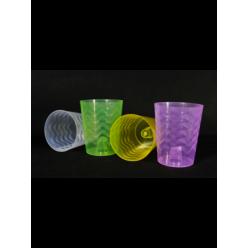 Горшок пластмассовый Фала 13,5см для орхидей микс