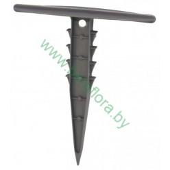 Шпильки для агроволокна пластмассовые 12см 10шт/уп EVA8174