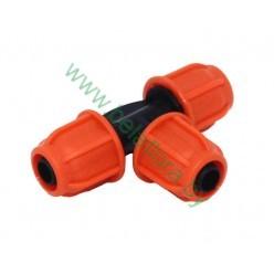 Тройник для шланга капельного полива 9х12мм RIG5133
