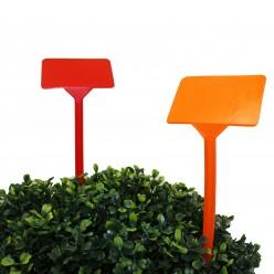 Табличка пласт. для растений Буква Т 6,5х9,5х35 Микс