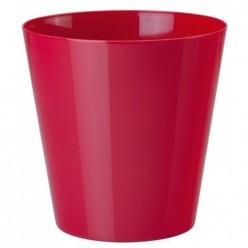 Кашпо пластмассовое Вулкано 11 вишневый 0661-045