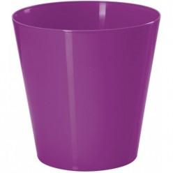 Кашпо пластмассовое Вулкано 11 фиолетовый 0661-005