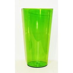 Ваза пластиковая Туба Вулкано 15 зеленый