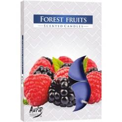 Свечи ароматизированная плав. Лесные ягоды (6шт/уп)