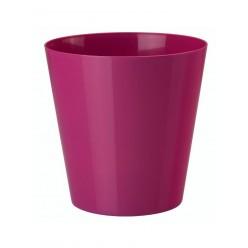 Кашпо пластмассовое Вулкано 9,5 ягодный 0666-043