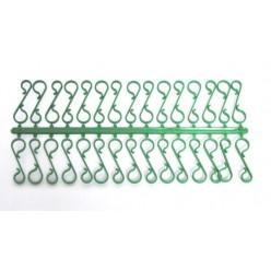Крючки для подвеса елочных украшений зел. 30 шт/уп ARP5776