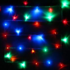 Гирлянда для дома 13м 152 лампы LED прозрач.пров.