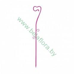 Опора пластмассовая для Орхидей розовая 39см 0309PS-Т06