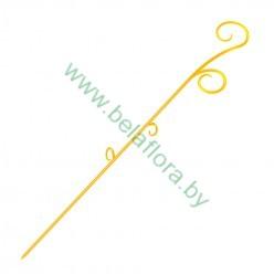 Опора пластмассовая для Орхидей желтый 39см 0309PS-Т08