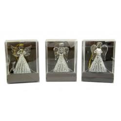 Ангел стеклянный в упаковке TG25551-BM