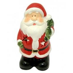 """Подсвечник керамический """"Дед Мороз"""" TG29975-BM"""
