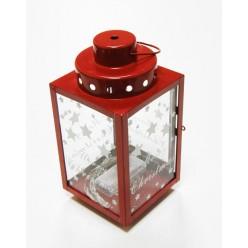 Фонарь светодиодный х8 красный К04658